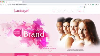 LACTACYD GLOBAL WEBSITE